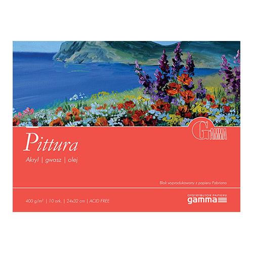 Blok Gamma pittura 400g 10ark
