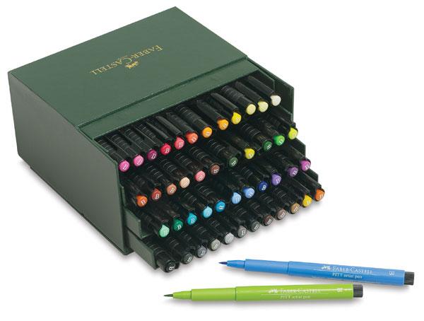 Faber-Castell pitt artist pen brush zestaw 48 pisaków