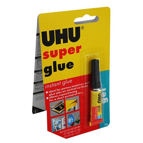 UHU super glue 3g - klej błyskawiczny w żelu
