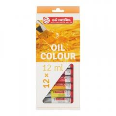 Talens artcreation zestaw farb olejnych 12x12ml