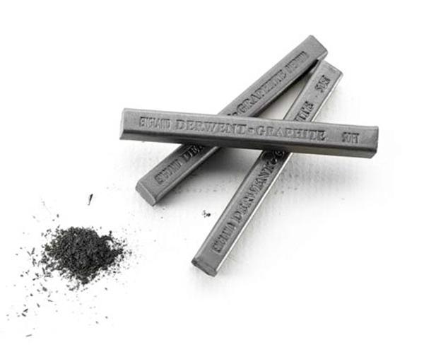 Derwent grafit w sztabkach