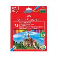 Faber-Castell zamek kredki ołówkowe 24 kolory 111224