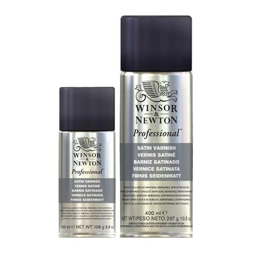 Winsor&Newton werniks satynowy w sprayu