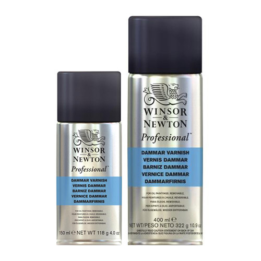 Winsor&Newton werniks damarowy w sprayu