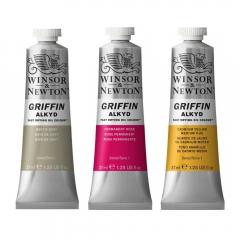 Winsor&Newton griffin farby alkidowe - 37ml
