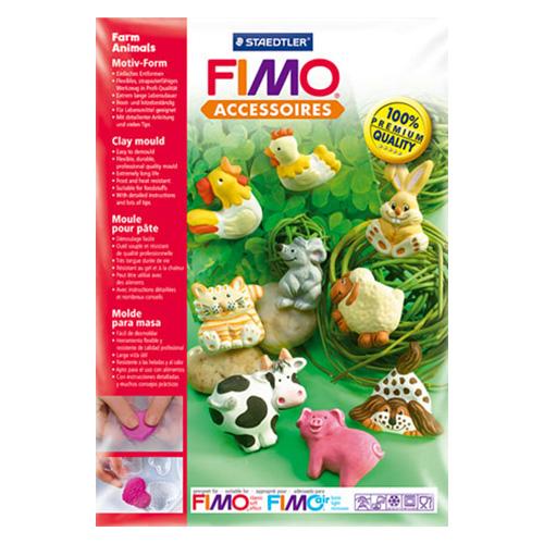 Fimo forma - zwierzaki z farmy