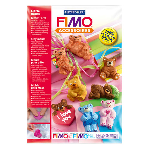 Fimo forma - małe misie