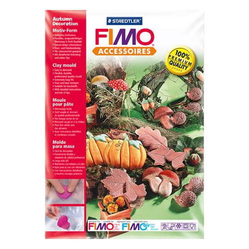 Fimo forma - dekoracja jesienna