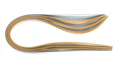 Paski do quillingu, odcienie srebra i złota. 3, 5, 10 mm