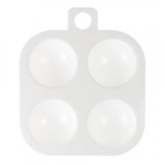 Paletka malarska plastikowa kwadratowa 8,0x8,0 cm