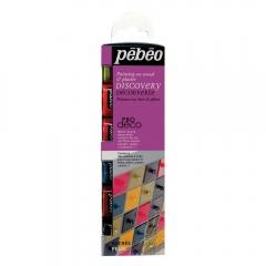 Pebeo deco zestaw błyszczących farb dekoracyjnych 6x20ml
