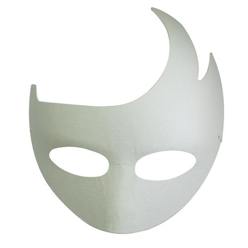 Maska z paper mache z gumką-cezar