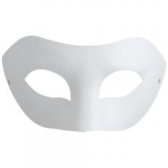 Maska z paper mache z gumką - Zorro