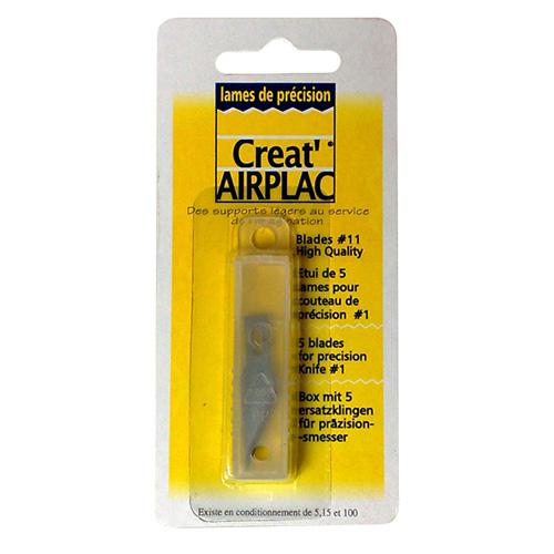 Creat airplac zestaw 5 ostrzy EKB11