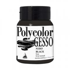 Maimeri polycolor czarne gesso 500ml