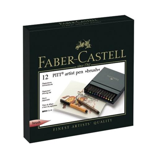 Faber-Castell pitt zestaw 12 pisaków