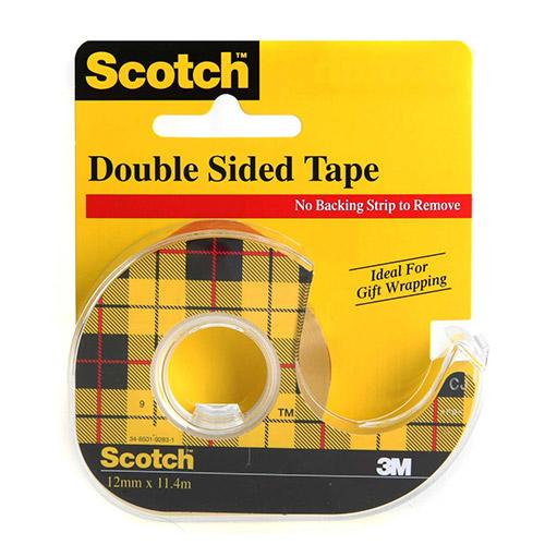Scotch taśma dwustronnie klejąca 136D-EEME 12mm x 6,3m