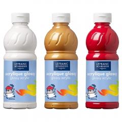 Lefranc&Bourgeois glossy farby akrylowe 500ml