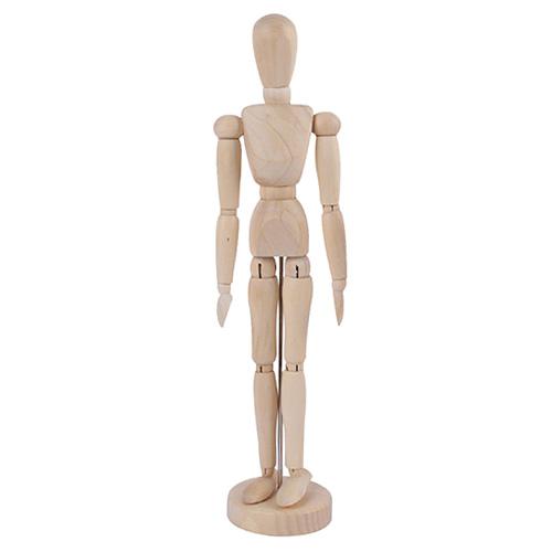 Manekin drewniany kobieta - wysokość 40 cm
