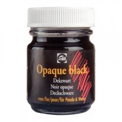 Talens głęboki czarny lakier na bazie wody 50 ml