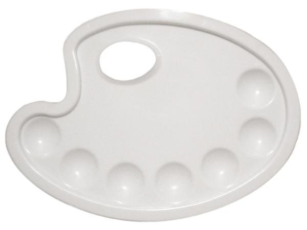 Paleta plastikowa owalna mała 16,5x23,5cm