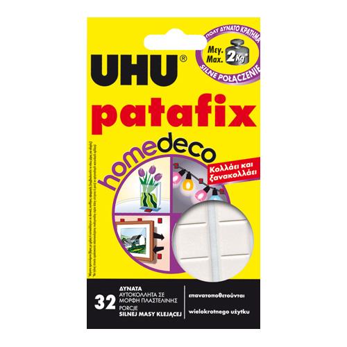 UHU patafix homedeco masa samoprzylepna 32szt.