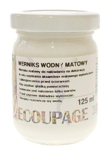 Renesans werniks wodny matowy decoupage 110ml