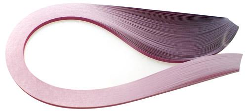 Paski do quillingu, cieniowane różowe 3, 5, 10 mm