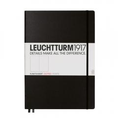 Notatnik LEUCHTTURM1917 master A4 czarny kropka