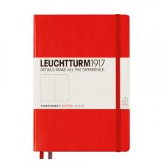 Notatnik LEUCHTTURM1917 medium A5 czerwony kropka