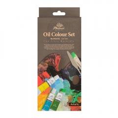 Phoenix zestaw farb olejnych - 12x12ml kolorów