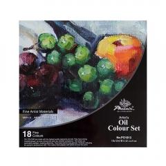 Phoenix zestaw farb olejnych - 18 kolorów