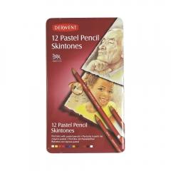 Derwent pastel skintones zestaw pasteli w kredce 12 kolorów