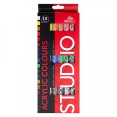 Phoenix zestaw farb akrylowych 18x12ml