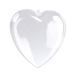 Serce z plexi 10cm