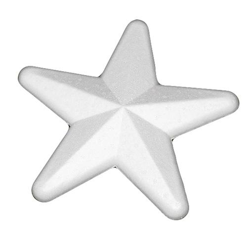Gwiazda 5 ramienna ze styropianu 15cm