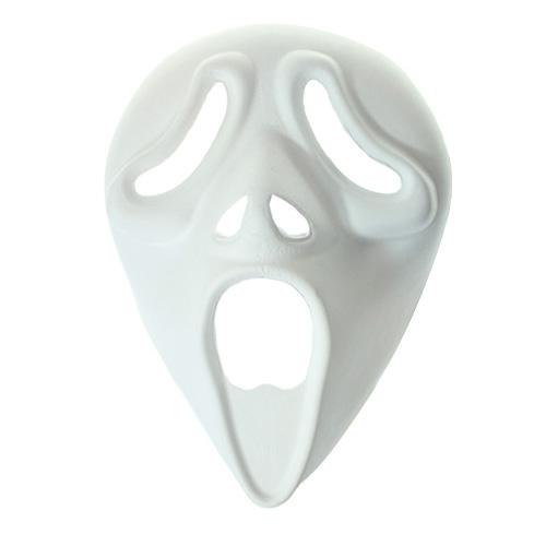 Maska z paper mache z gumką - Krzyk