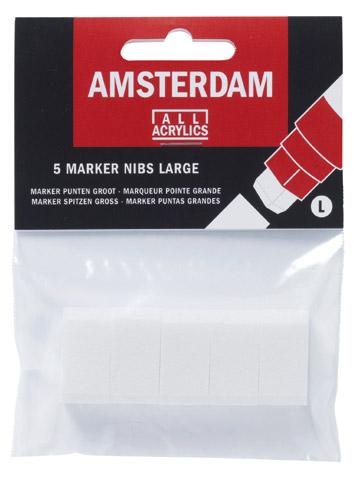 5 wkładów do markerów Amsterdam large