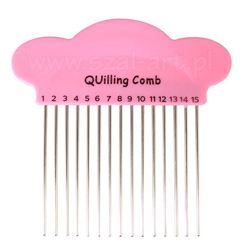 Grzebień do quillingu