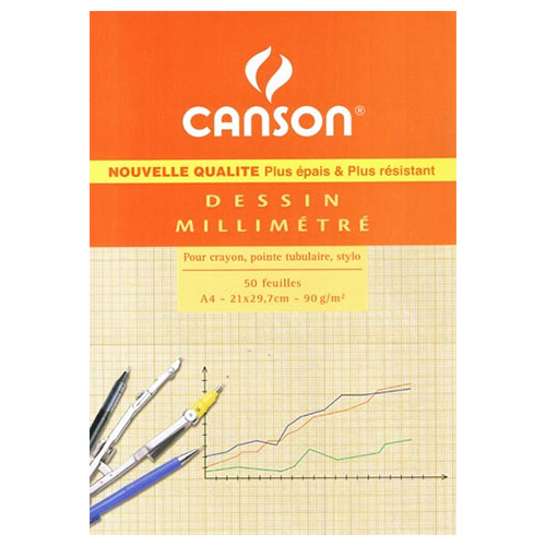 Blok Canson papier milimetrowy
