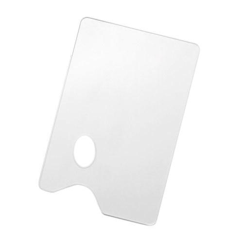 Paleta plastikowa gładka 19x29cm