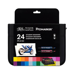 Winsor&Newton promarker student designer zestaw 24 kolorów