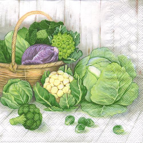 Serwetka do decoupage Ambiente 27-13308700 cabbage