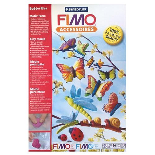 Fimo forma - motyle