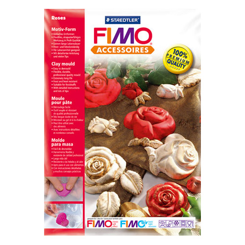 Fimo forma - róże