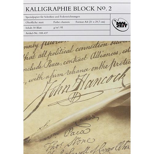Blok MALZEIT No.2 do kaligrafii 95g 50ark