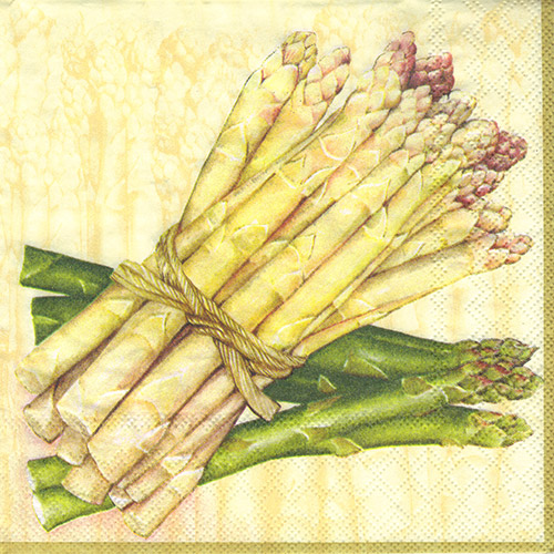 Serwetka do decoupage Ambiente 8-13301887 bound asparagus