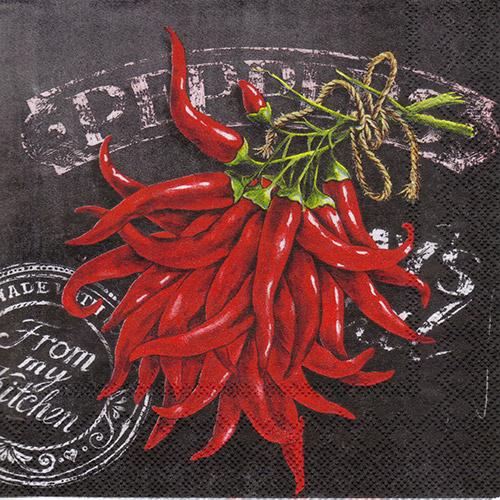 Serwetka do decoupage 32-IHR C599600 fresh chili
