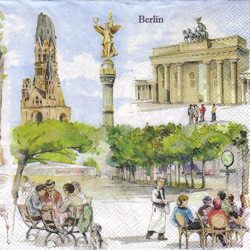 Serwetka do decoupage 30-IHR L466200 Berlin