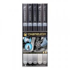 Chameleon gray tones zestaw 5 markerów